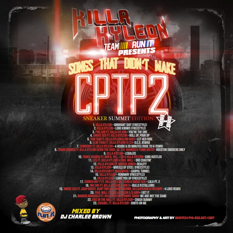 Killa Kyleon - Songs That Didn't Make CPTP2 (Back)