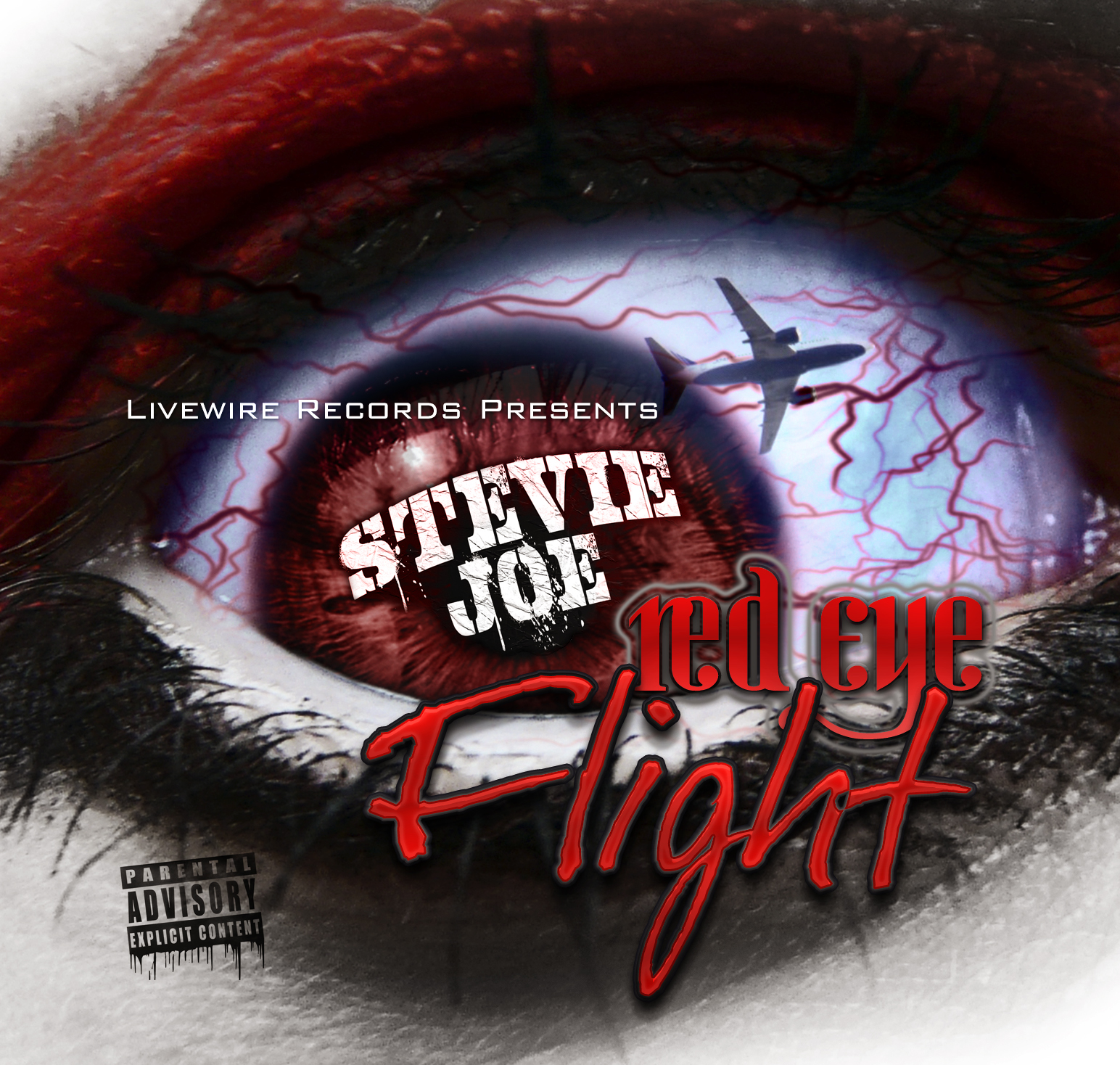 Stevie Joe - Red Eye Flight - Front Cover