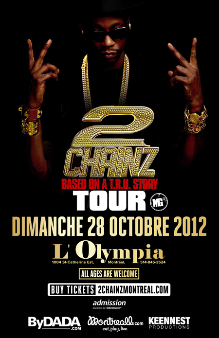 2 Chainz Montreal Tickets B.O.A.T.S.