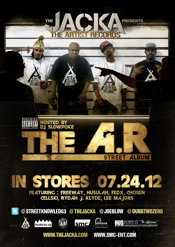 The Jacka - The A.R. Street Album - Poster