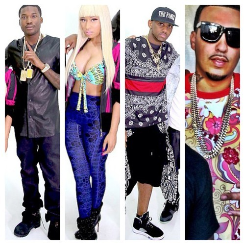 meek mill i be on that french montana nicki minaj fabolous