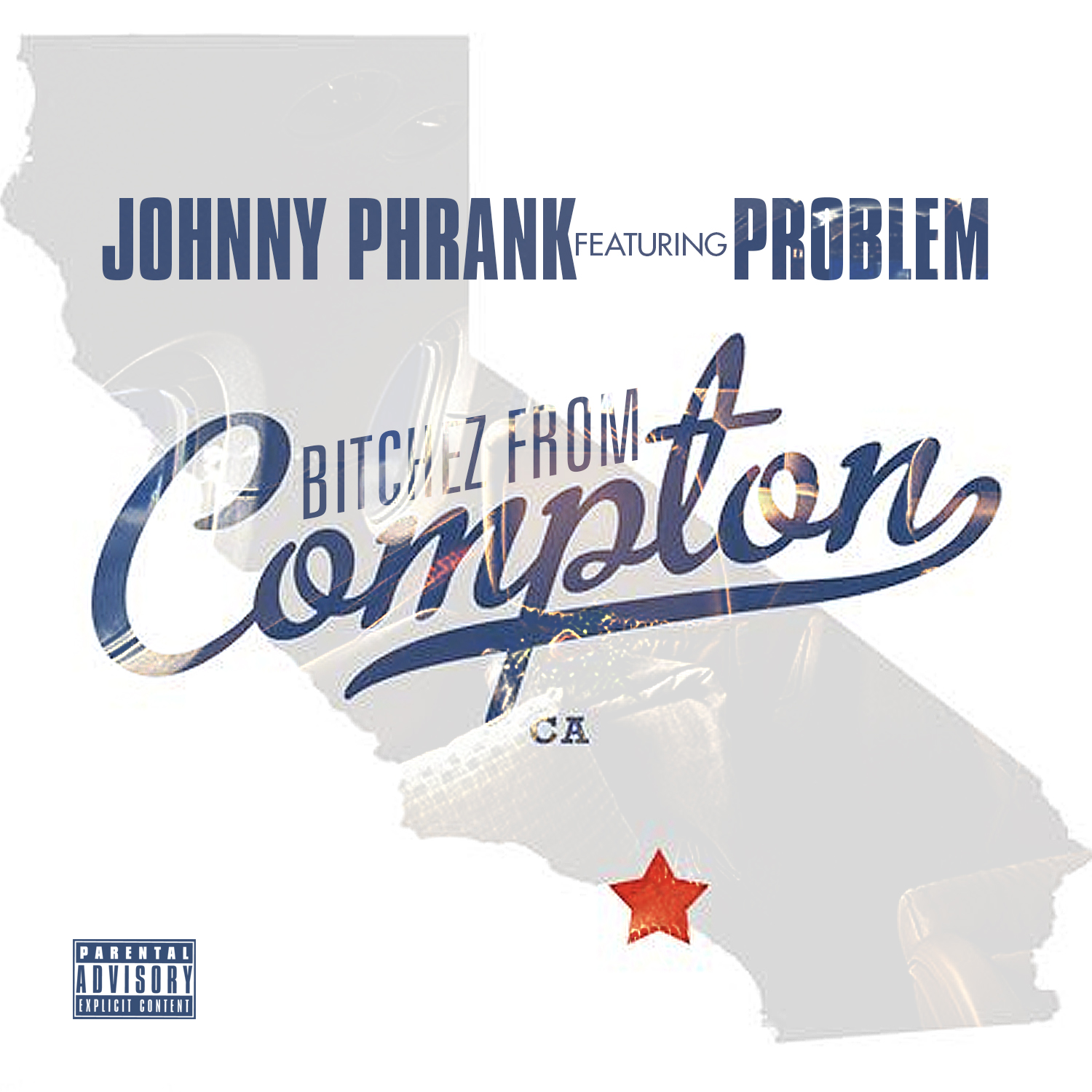 Johnny Phrank feat. Problem - Bitchez From Compton